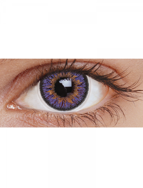 Voilet Three Tone : 30-Day Contact lens